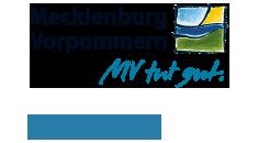 Mecklenburg Vorpommern. MV tut gut. (Symbol)